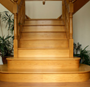 Wood Floor Polishing INC - Staircase